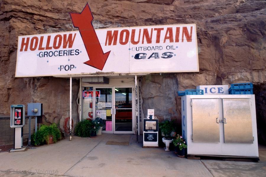 Travel light: Hollow mountain