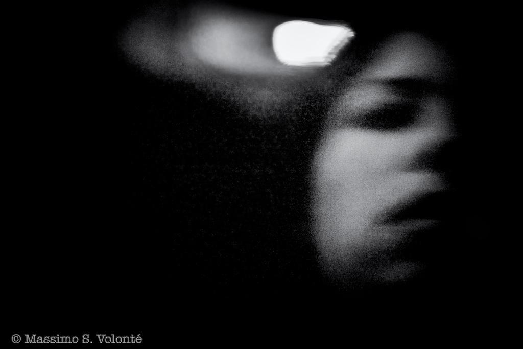 She blurred