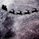 Fragment 18 - Santa claus flying to the moon