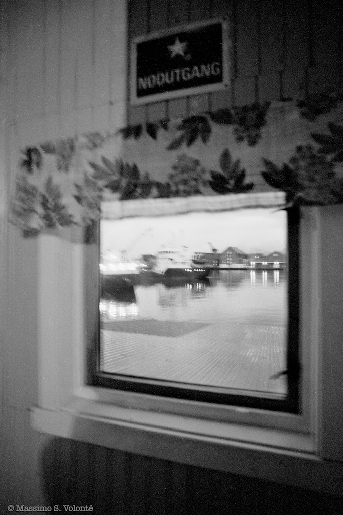 Room 135 - A window with harbour view