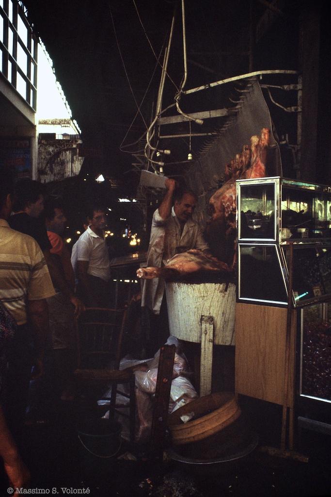 Travel light: The plaka butcher
