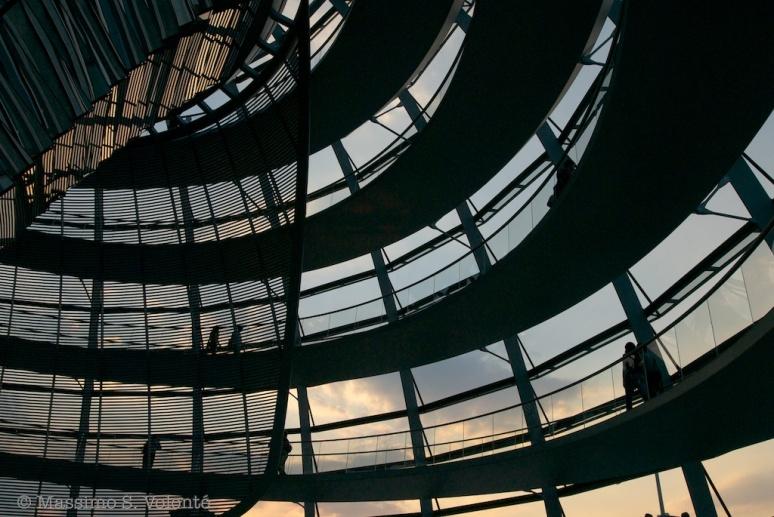 Postxard 66 - Berlin Reichstag dome