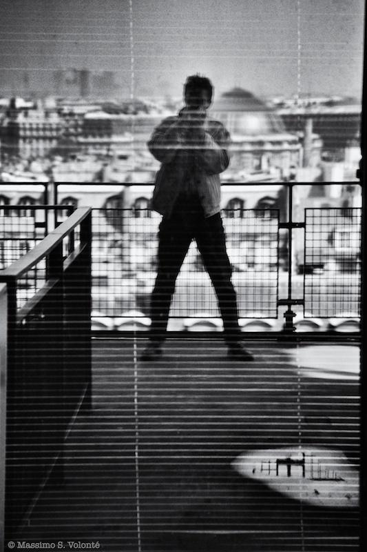 Me in a window in Paris