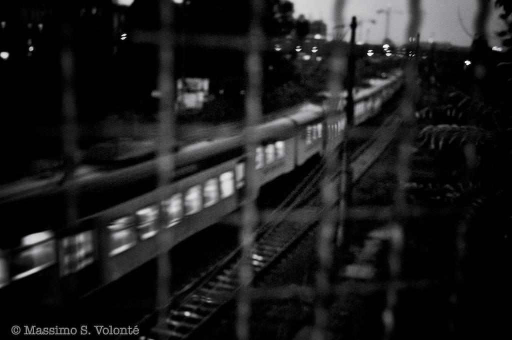 A train run fast to its destiny