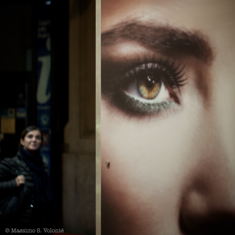 Eye off the wall, fotografo milano