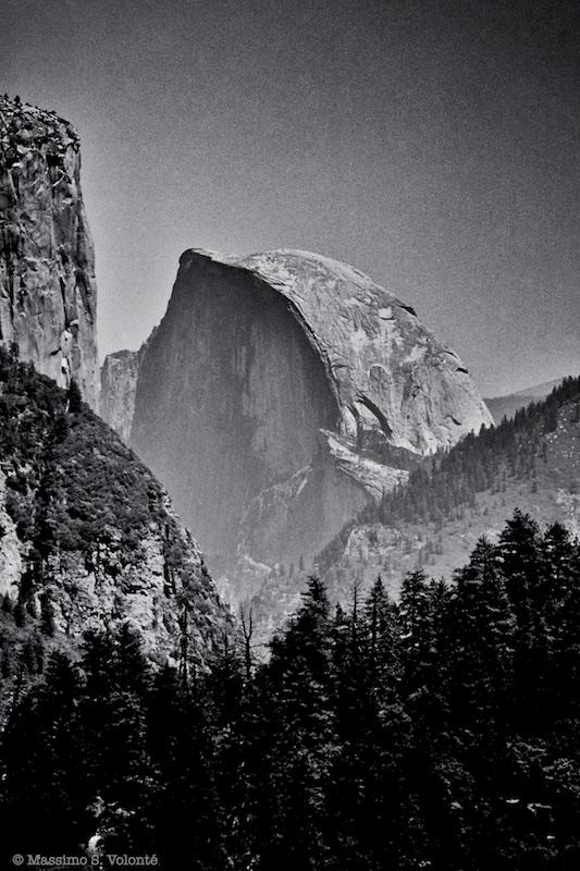 Half Dome, Yosemite N.P., Black and white, fotografo milano