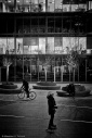 Skating, Biking, Kissing, Black and white, Fotografo Milano