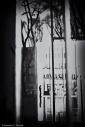 Tiny figure in silhouette, Black and white, volonte fotografo milano