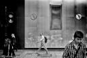 Street scene, London, Monochrome, Volonte fotografo Milano