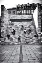 Pertini's Monument, Black and white, Volonte fotografo Milano