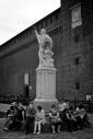 In the castle, Black and white, Volonte fotografo Milano